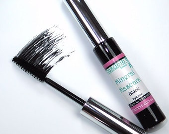 9g Mineral Mascara - Black - For Natural Looking Lashes