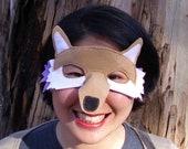 Fox Mask--Tan
