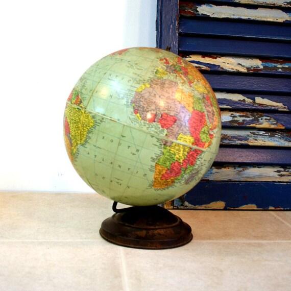 1950s Replogle World Globe