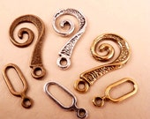 Toggle Clasps Brass Toggle Clasp Silver Toggle Clasp Gold Toggle Clasp Brass Findings Siver Findings Gold Findings
