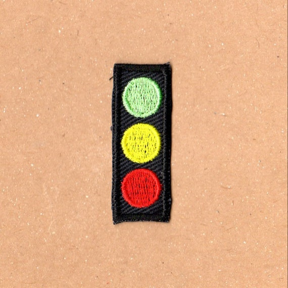 Stoplight Patch - The Life Aquatic