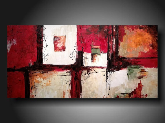 Art Painting Original Jmjartstudio Original Painting 24 X 48 Inches ------- Hold For Carla