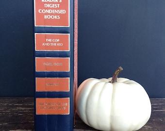 Vintage Reader's Digest Book - Orange