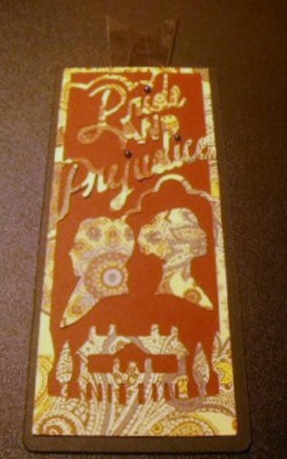 Pride and Prejudice Bookmark Handmade