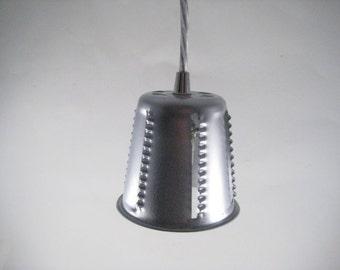 Food Processor Cutting Cone Pendant Light