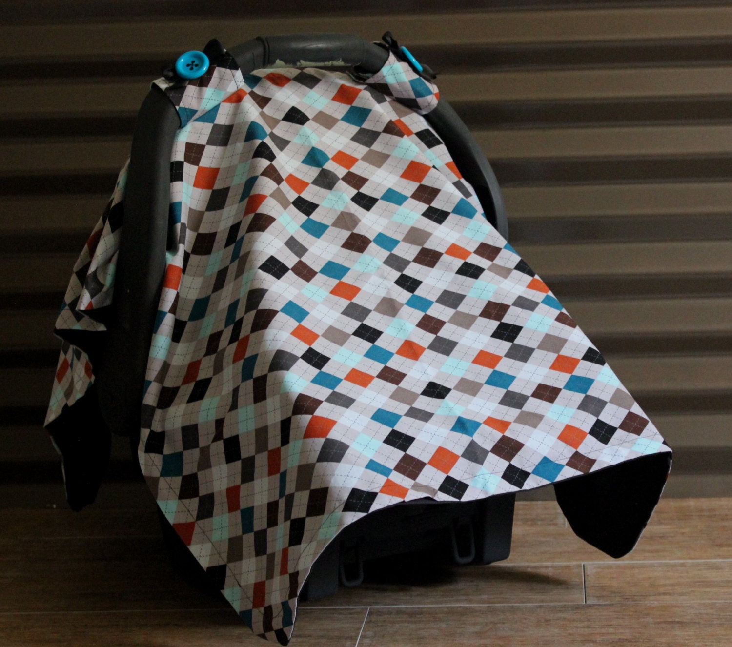 Baby Boy Car Seat Cover FREE SHIPPING by WadsworthBoutique Custom Baby Boy Car Seat Covers