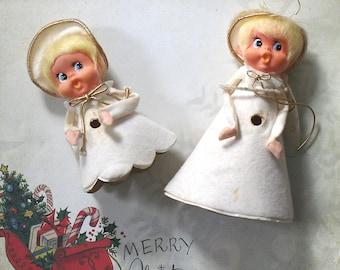 Christmas Angel Choir Light Covers Big Eye Doll