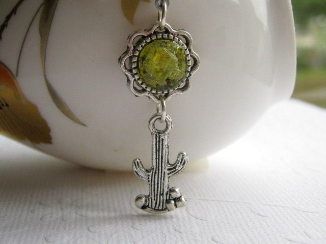 Cactus Belly Button Ring Cactus Barbell Hippie Body Jewelry Body