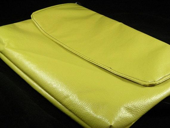 Limey Green Messenger Bag