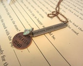 summer trends text, back to school ... Inspirational sayings to wear everyday-- CHERISH necklace--comes with chain