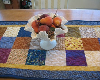 Quilted Block Table Runner