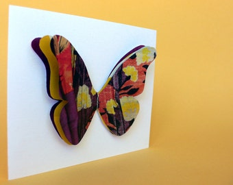Butterfly Greeting Cards - Earth-Friendly Set of 8
