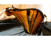 Fabulous Art Glass Tiger Paperweight