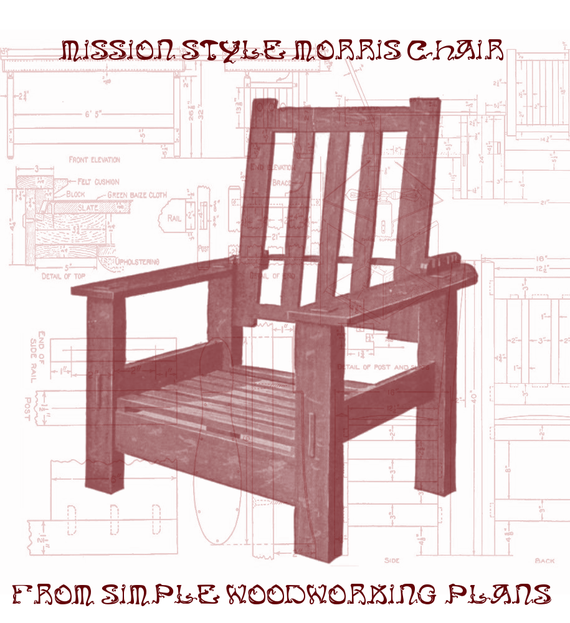 items similar to woodworking furniture plans mission