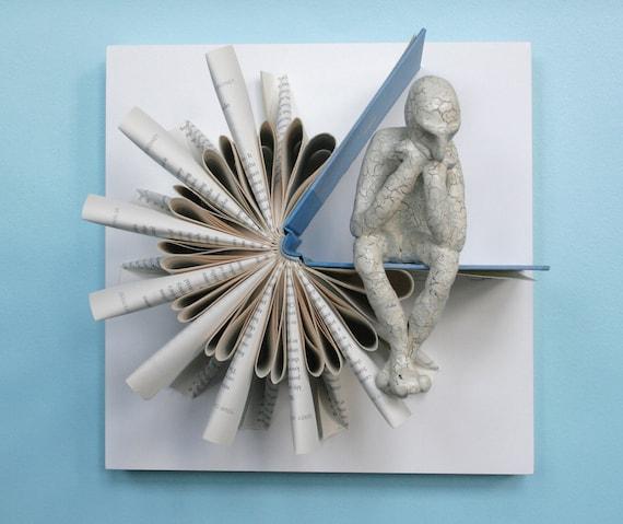 Thinker on Sundial Fold (Original Sculpture)