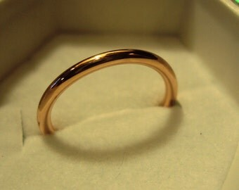 Rose gold filled rings, etsy jewelry, wedding, engagement, pink gold, hammered, promise, handcrafted, set of 2
