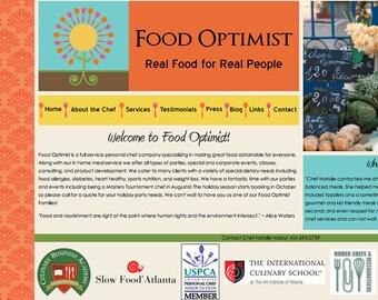 Five page Website Design, Logo Design, Business Cards, Web site template, Custom Design