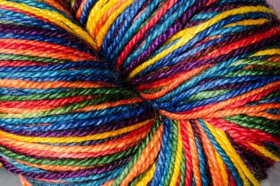Live Your Dream - Rainbow - Serendipitous Sock - Self Striping MCN Sock Yarn