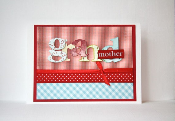 Grandmother Handmade Card