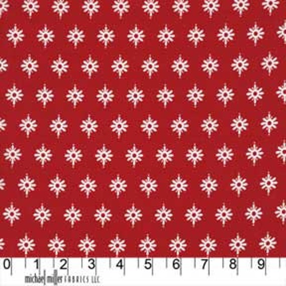 Pillow and Maxfield Christmas For Michael Miller Fabrics - Santa Firefly DC4610 SANT-D