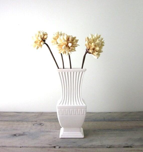 Creamy White Vase