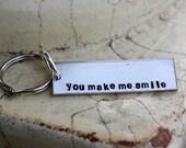 Key chain, You make me smile