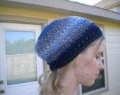 Knit  Lace Beanie