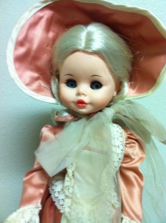 Vintage Italian Furga Doll 18 Inches 1960 S 1970 S