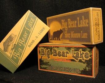 Big Bear, Shasta, Arrowhead lakes California lake house cabin decorations