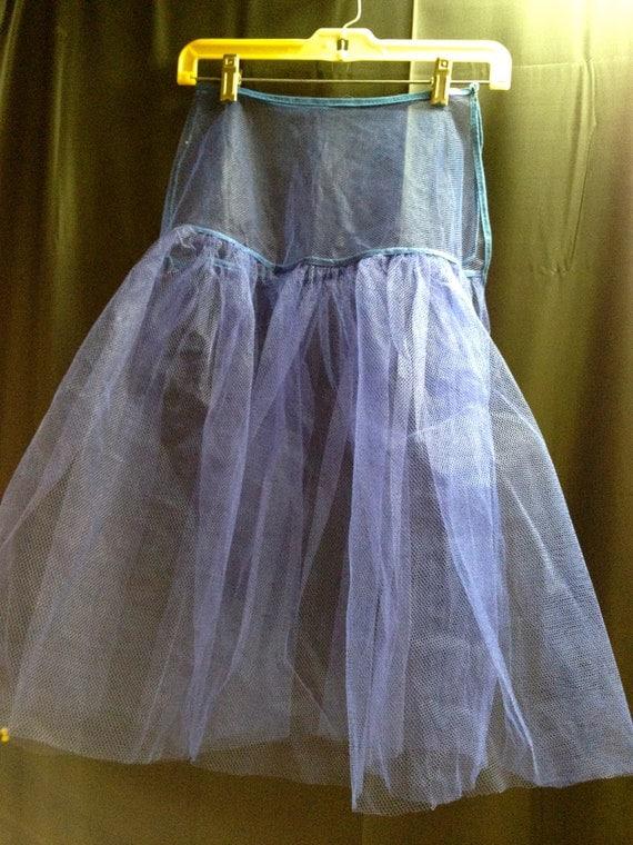 Royal Blue Half Slip Tulle or Organza SMALL Petticoat TuTu