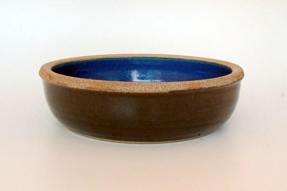 Wheel Thrown Pet Bowl - Dog Bowl - Ceramic Pottery Bowl - Dog Dish