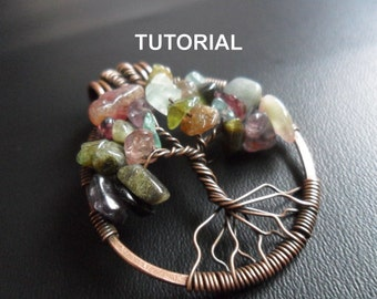 Tree Of Life Tutorial-PDF-Download -Learn to make this beautiful pendant your self