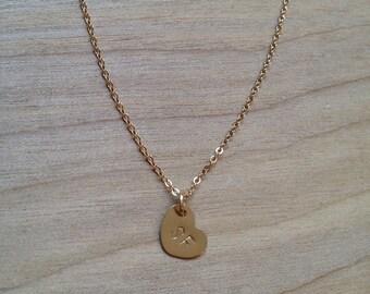 I Heart SF Charm Necklace