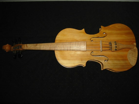 Handmade Curly Maple and Cedar Fiddle / Violin 4/4 Size (In Stock Ready To Ship)