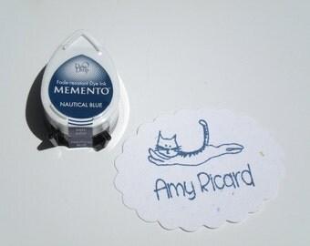 Memento Fade-Resistant Dye Ink Pad NAUTICAL BLUE