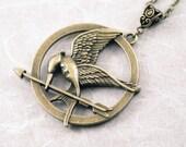 Mockingjay Katniss Hunger Games Necklace