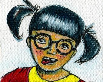 Chilindrina Mexican Pop Art Print