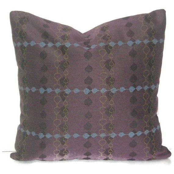 Throw Pillow Case 20 X 20 : Decorative Pillow Cover 20 X 20 Purple Throw