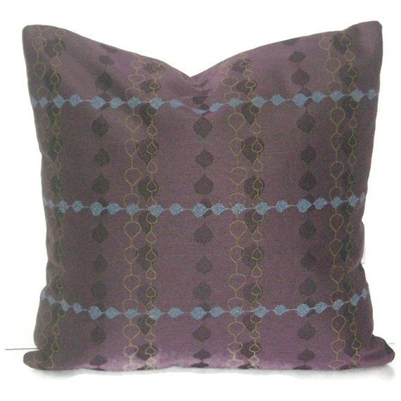 Decorative Pillow Cover 20 X 20 Purple Throw