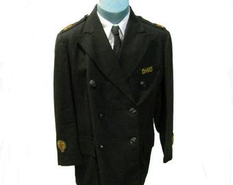 Vintage Knights Templar Blazer  Masonic  Lilley-Ames Co Columbus Ohio Uniform Coat