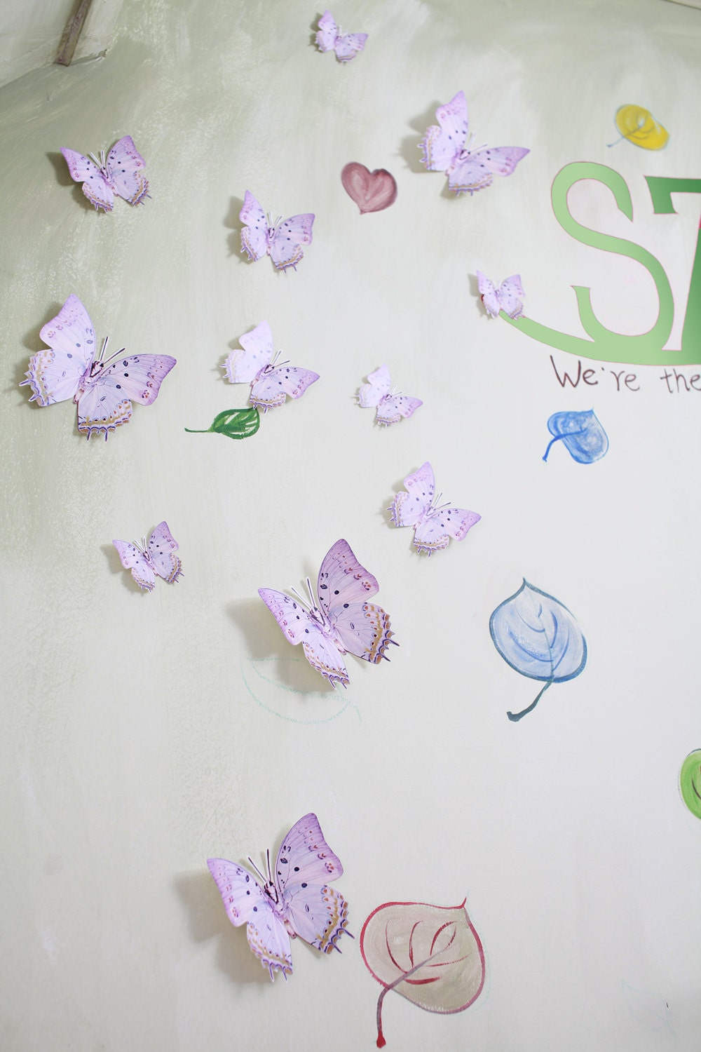 3d Wall Art For Contemporary Homes: 12 3D Wall Butterflies3D Butterfly Wall Art By SimplyChicLily