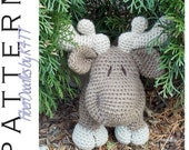 INSTANT DOWNLOAD : KISS Series - Moose Crochet Pattern