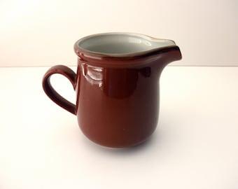 vintage brown creamer -  made in Japan