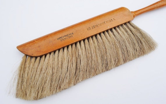 VIntage 100% Horse Hair Drafting Brush