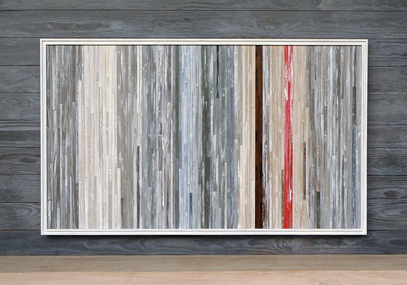 Distressed Wood Abstract Wall Art, 42 x 25, AVAILABLE