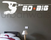 Vinyl Wall Sticker Decal Art - Wakeboard