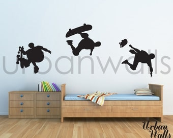Vinyl Wall Sticker Decal Art - Skateboard