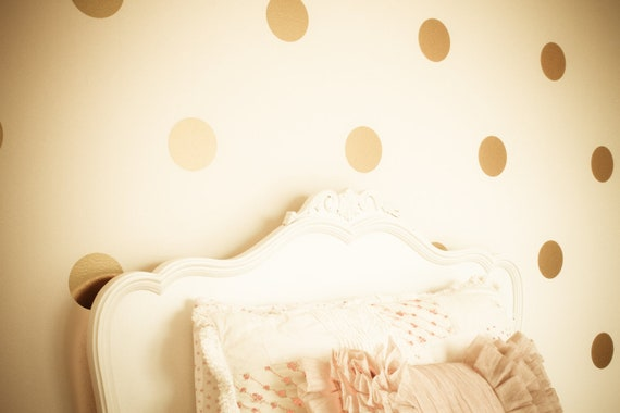 vinyl wall sticker decal art polka dots. Black Bedroom Furniture Sets. Home Design Ideas