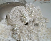 Bridal Garter Set- ELEGANCE Design 1