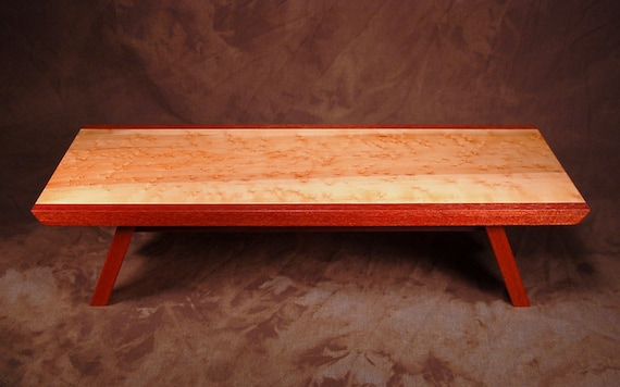 Table Top meditation altar-Puja Table (Birdseye Maple)